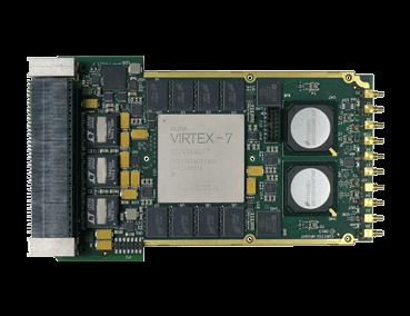 VPX3-530 3U VPX Virtex-7 FPGA ADC/DAC for SWaP Constrained Platforms
