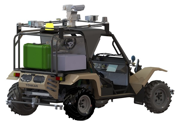 Autonomous Navigation System, Autonomous Navigation Vehicle Designs, Autonomous Unmanned Ground Vehicle