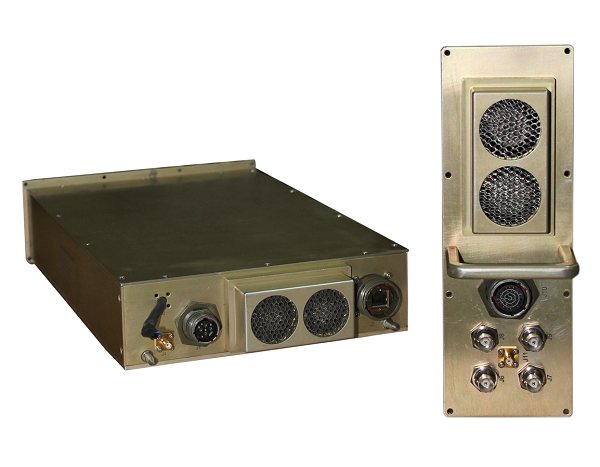 VUHF Wideband and Microwave Receiver