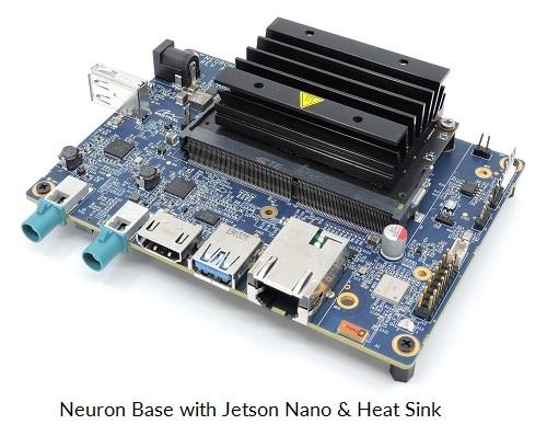NVIDIA Jetson Nano, NVIDIA Jetson Xavier NX, NVIDIA Nano carrier board, NVIDIA Neuron Board